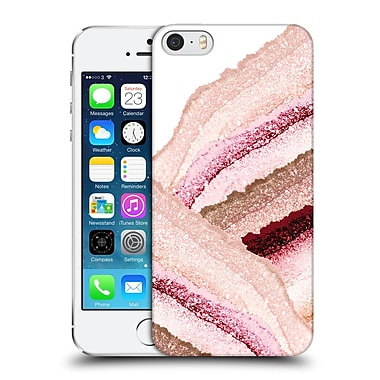 Official Monika Strigel Flawless Wraps Peachy Hard Back Case For Apple Iphone 5 / 5S / Se