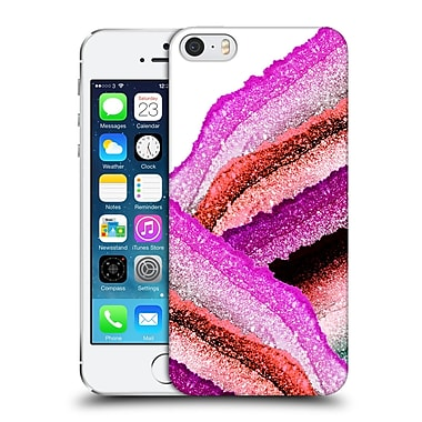 Official Monika Strigel Flawless Wraps Strawberry Hard Back Case For Apple Iphone 5 / 5S / Se