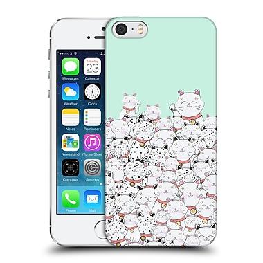 Official Monika Strigel Find The Panda Mint Hard Back Case For Apple Iphone 5 / 5S / Se