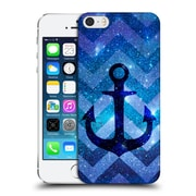 Official Monika Strigel Galaxy Anchors Blue Hard Back Case For Apple Iphone 5 / 5S / Se
