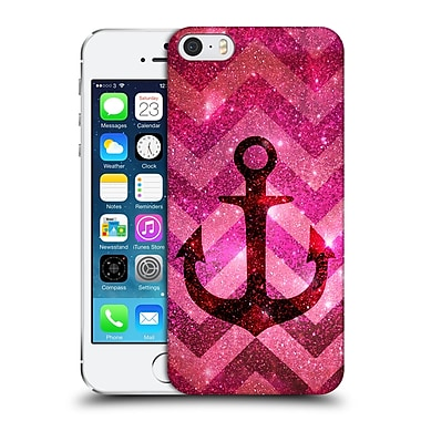Official Monika Strigel Galaxy Anchors Coral Hard Back Case For Apple Iphone 5 / 5S / Se