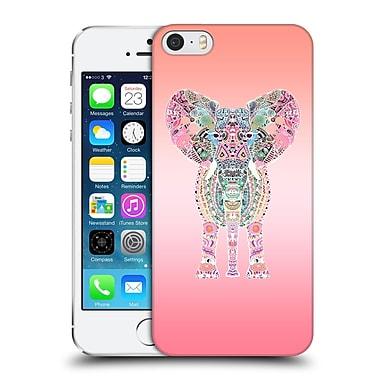 Official Monika Strigel Gypsy Elephant Pink Hard Back Case For Apple Iphone 5 / 5S / Se