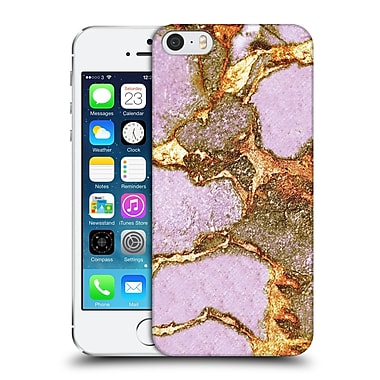 Official Monika Strigel Gemstone And Gold Rose Hard Back Case For Apple Iphone 5 / 5S / Se