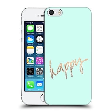 Official Monika Strigel Gold And Happy Mint Hard Back Case For Apple Iphone 5 / 5S / Se