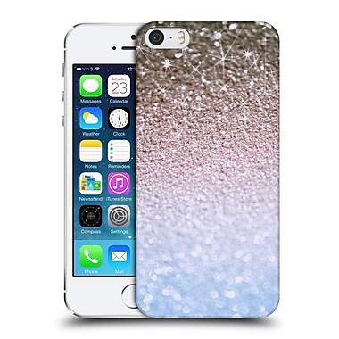 Official Monika Strigel Glitters Glamour Blue Hard Back Case For Apple Iphone 5 / 5S / Se