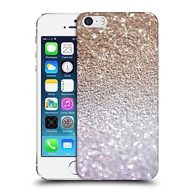 Official Monika Strigel Glitters Glamour Coffee Hard Back Case For Apple Iphone 5 / 5S / Se