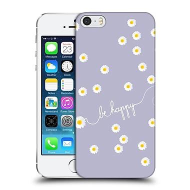 Official Monika Strigel Happy Daisy Lavender Hard Back Case For Apple Iphone 5 / 5S / Se
