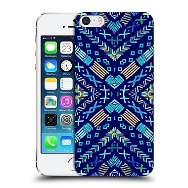 Official Monika Strigel Happy Echo Multi Blue 2 Hard Back Case For Apple Iphone 5 / 5S / Se