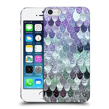 Official Monika Strigel Happy Mermaid Lavander Mint Hard Back Case For Apple Iphone 5 / 5S / Se