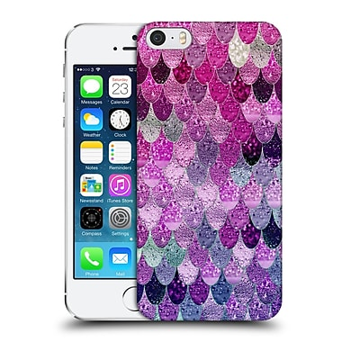 Official Monika Strigel Happy Mermaid Pink And Lavander Hard Back Case For Apple Iphone 5 / 5S / Se