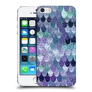 Official Monika Strigel Happy Mermaid Purple Hard Back Case For Apple Iphone 5 / 5S / Se