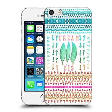 Official Monika Strigel Happy Quote Big Dreams Hard Back Case For Apple Iphone 5 / 5S / Se