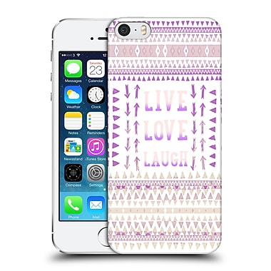 Official Monika Strigel Happy Quote Live Love Laugh Hard Back Case For Apple Iphone 5 / 5S / Se