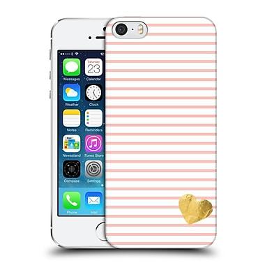 Official Monika Strigel Little Heart Peach Hard Back Case For Apple Iphone 5 / 5S / Se