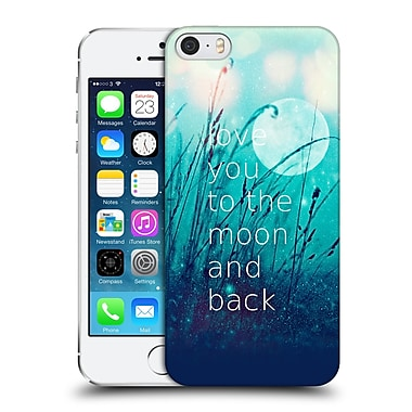 Official Monika Strigel Love Quote Mint Hard Back Case For Apple Iphone 5 / 5S / Se