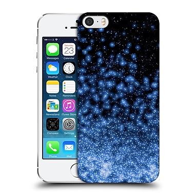 Official Monika Strigel Magic Lights Black Blue Hard Back Case For Apple Iphone 5 / 5S / Se