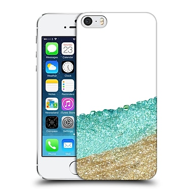 Official Monika Strigel Pretty Covered Mint Gold Hard Back Case For Apple Iphone 5 / 5S / Se