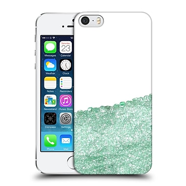 Official Monika Strigel Pretty Covered Mint Hard Back Case For Apple Iphone 5 / 5S / Se