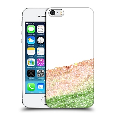 Official Monika Strigel Pretty Covered Peach Hard Back Case For Apple Iphone 5 / 5S / Se