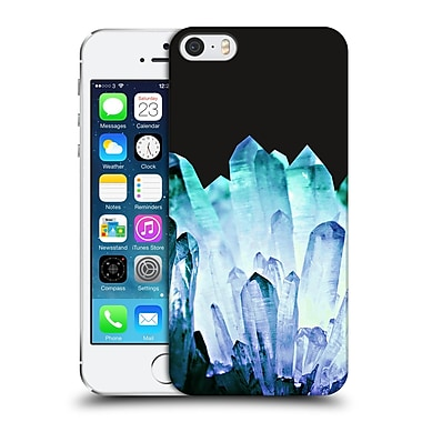 Official Monika Strigel Pure Crystal Blue Hard Back Case For Apple Iphone 5 / 5S / Se