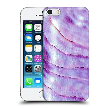 Official Monika Strigel Pastel Seashell Purple Hard Back Case For Apple Iphone 5 / 5S / Se