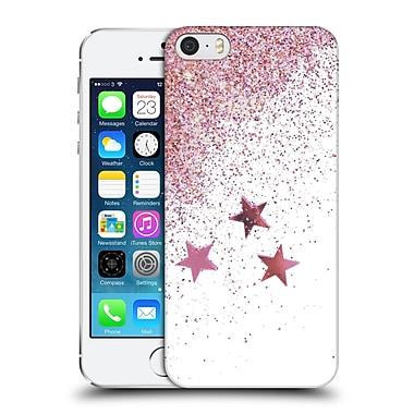 Official Monika Strigel Shaky Stars Pink Hard Back Case For Apple Iphone 5 / 5S / Se