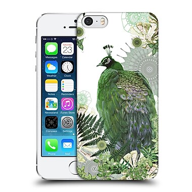Official Monika Strigel Tropical Peacock Emerald Hard Back Case For Apple Iphone 5 / 5S / Se