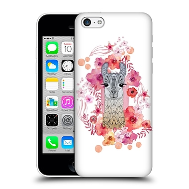 Official Monika Strigel Animals And Flowers Baby Lama Hard Back Case For Apple Iphone 5C