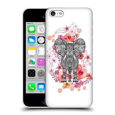 Official Monika Strigel Animals And Flowers Elephant Aztec Hard Back Case For Apple Iphone 5C