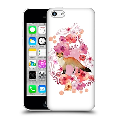 Official Monika Strigel Animals And Flowers Fox Hard Back Case For Apple Iphone 5C