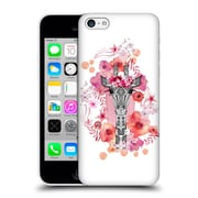 Official Monika Strigel Animals And Flowers Giraffe Hard Back Case For Apple Iphone 5C