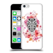 Official Monika Strigel Animals And Flowers Lion Hard Back Case For Apple Iphone 5C