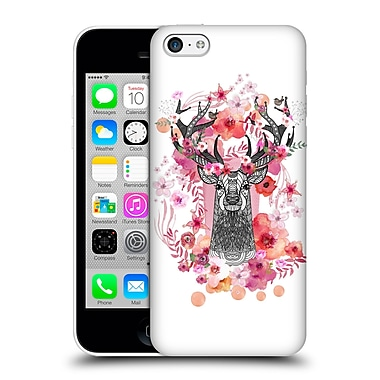 Official Monika Strigel Animals And Flowers Stag Aztec Hard Back Case For Apple Iphone 5C