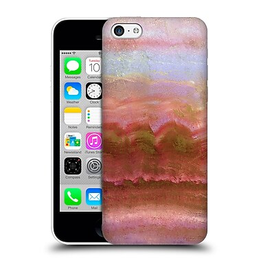 Official Monika Strigel Agate Gemstone Coral Hard Back Case For Apple Iphone 5C