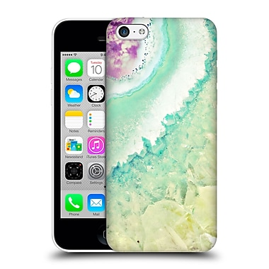 Official Monika Strigel Amethyst Gold Mint Hard Back Case For Apple Iphone 5C