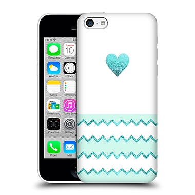 Official Monika Strigel Avalon Heart Aqua Hard Back Case For Apple Iphone 5C