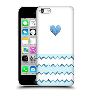 Official Monika Strigel Avalon Heart Blue Hard Back Case For Apple Iphone 5C