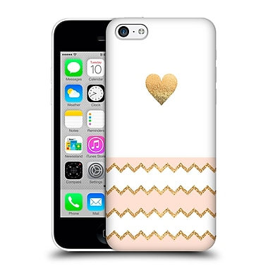 Official Monika Strigel Avalon Heart Peach Hard Back Case For Apple Iphone 5C