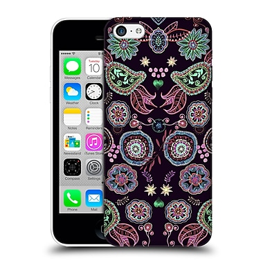 Official Monika Strigel Bring Me Flowers Black Hard Back Case For Apple Iphone 5C