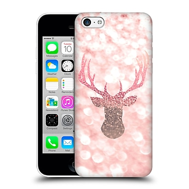 Official Monika Strigel Champagne Glitters 1 Deer Rose Hard Back Case For Apple Iphone 5C