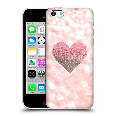 Official Monika Strigel Champagne Glitters 2 Heart Rose Hard Back Case For Apple Iphone 5C
