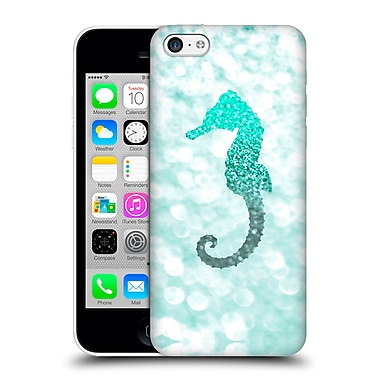 Official Monika Strigel Champagne Glitters 2 Seahorse Mint Hard Back Case For Apple Iphone 5C