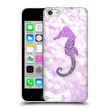 Official Monika Strigel Champagne Glitters 2 Seahorse Purple Hard Back Case For Apple Iphone 5C