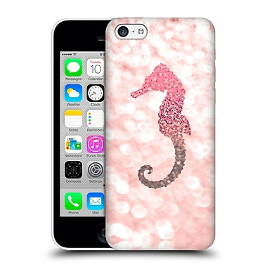 Official Monika Strigel Champagne Glitters 2 Seahorse Rose Hard Back Case For Apple Iphone 5C