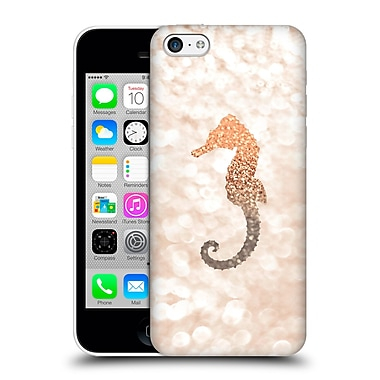 Official Monika Strigel Champagne Gold Seahorse Hard Back Case For Apple Iphone 5C