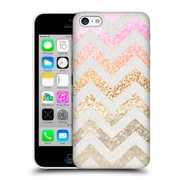 Official Monika Strigel Funky Chevron Gold Pink Hard Back Case For Apple Iphone 5C