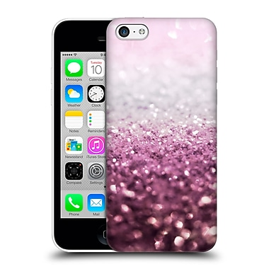 Official Monika Strigel Frozen Glitter Magic Rose Hard Back Case For Apple Iphone 5C