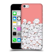 Official Monika Strigel Find The Panda Coral Hard Back Case For Apple Iphone 5C