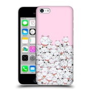 Official Monika Strigel Find The Panda Pink Hard Back Case For Apple Iphone 5C
