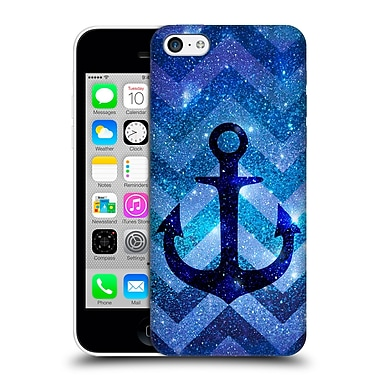 Official Monika Strigel Galaxy Anchors Blue Hard Back Case For Apple Iphone 5C
